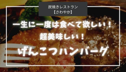 【さわやか】超美味しいげんこつハンバーグ!一生に一度は食べてほしい