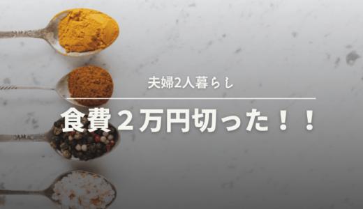 【夫婦二人暮らし】食費2万円切った!夕食の献立大公開②