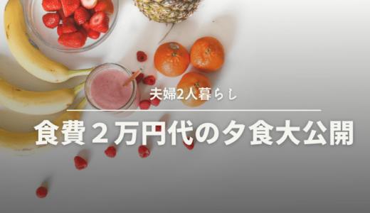 【夫婦二人暮らし】食費2万円以内!夕食の献立大公開③
